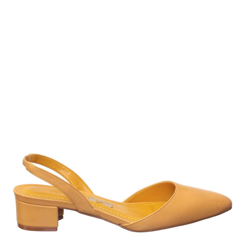 Sandália de Salto Oracu - Amarelo - Pianno 39